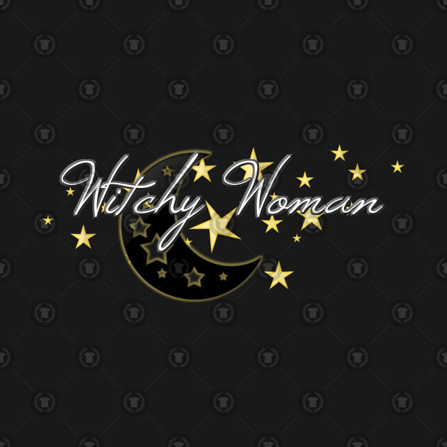 Witchy Woman With Stars