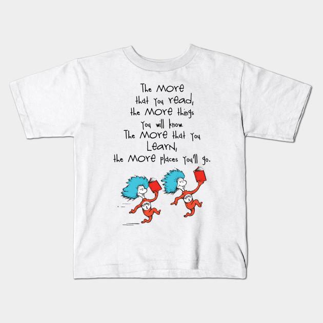 Dr Seuss Kids Shirts