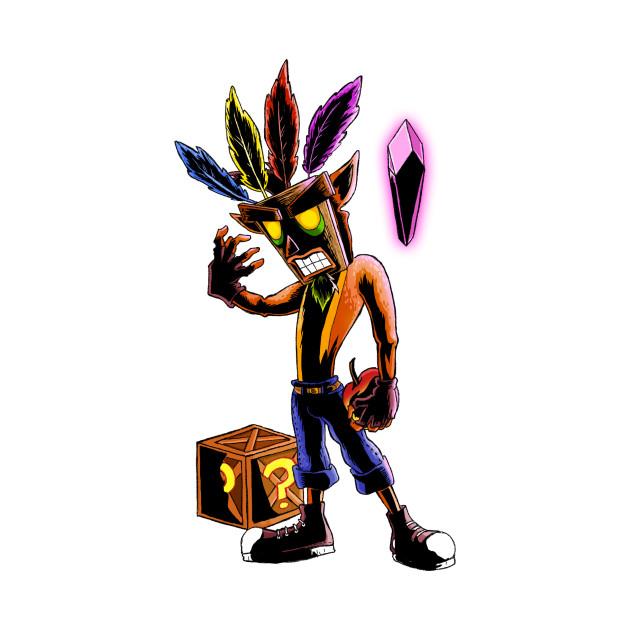 Crash Bandicoot Mask 56