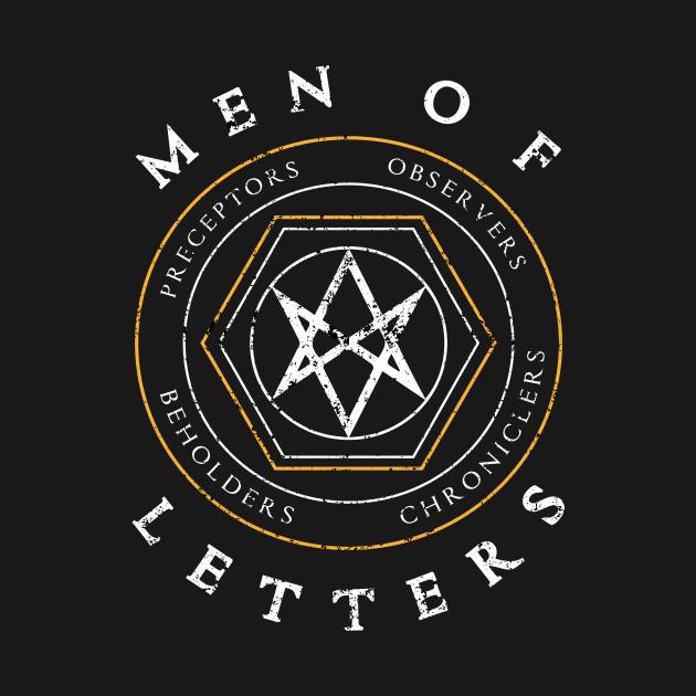 Men Letters SPN Supernatural T Shirt