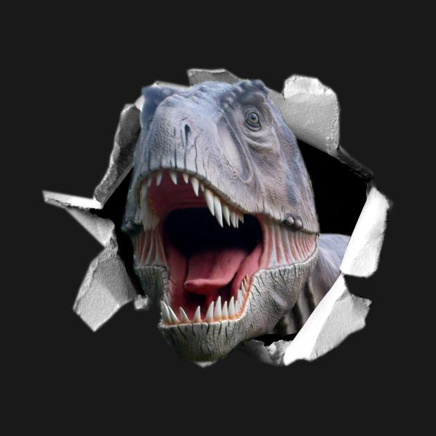 6791239a3 Trex Ripped - Dinosaur - T-Shirt   TeePublic