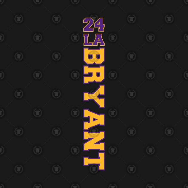 Kobe Bryant 24 Los Angeles Lakers