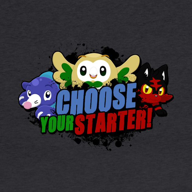 Choose your Alola starter!