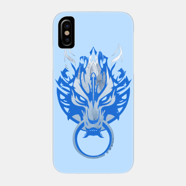 Cloud Strife s Wolf Emblem 3 iphone case