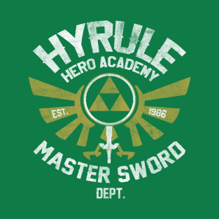 Hyrule Hero Academy t-shirts