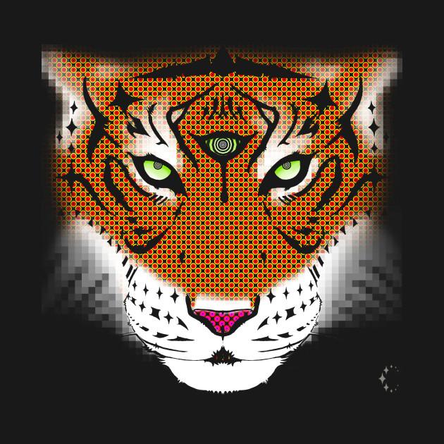 Third Eye of the Tiger | Half Tone