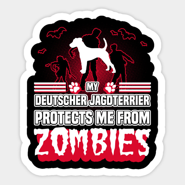 Deutscher Jagdterrier Halloween Gift T Shirt For Dog Lovers