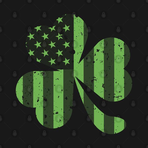 Irish American Flag Shamrock St Patrick Day 2021 Gift