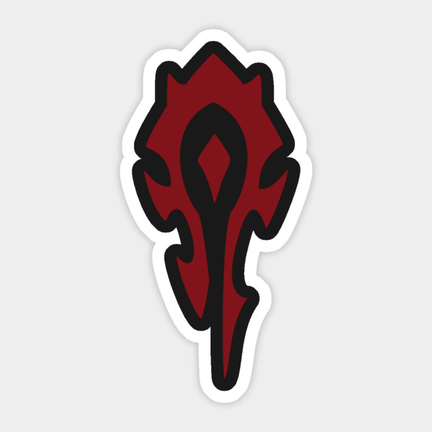 Wow Horde Symbol In The Horde Action And Strength Are Valued Above