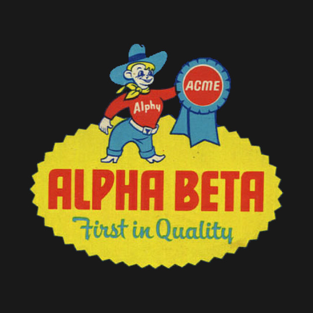 Alpha Beta Grocery Store - Logo
