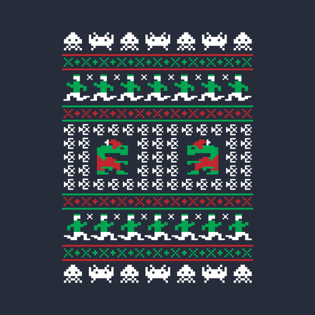 Games of Christmas Past - Atari ET - Ugly Sweater, Christmas Sweater & Holiday Sweater