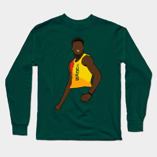 outlet store 3d79d a69d9 Giannis Antetokounmpo 'Mean Mug' The Mecca City Jersey - Milwaukee Bucks