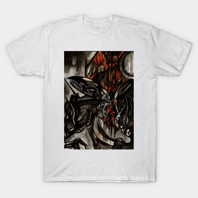 Alien vs Predator T-Shirt-TOZ