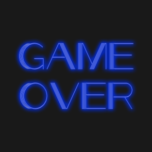 Game Over Neon t-shirts
