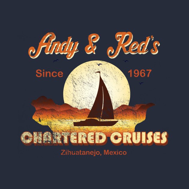 Andy and Red's Chartered Cruises, distressed