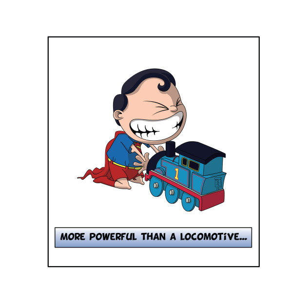 Look its a Bird! - More powerful than a locomotive