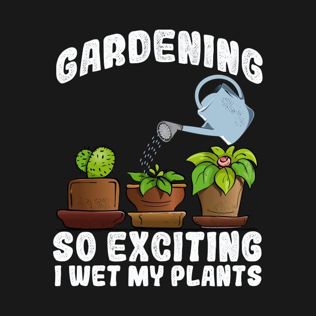 I wet my plants for gardener