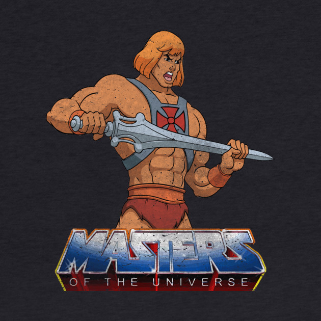 Masters Of The Universe - Logo - Dirty