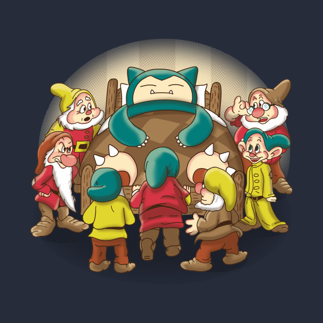 Snorlax and the seven dwarfs