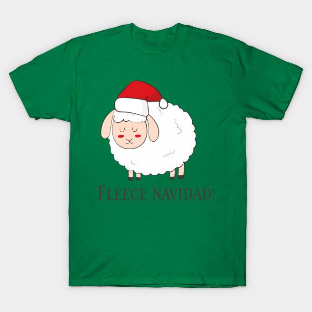 Christmas Fleece.Fleece Navidad Funny Cute Sheep Christmas