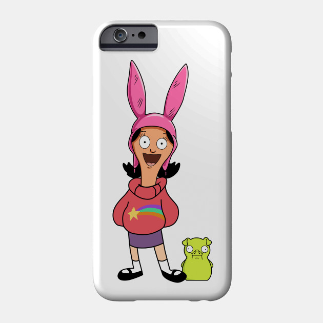 Bobs Burgers Louise Stickers iphone case