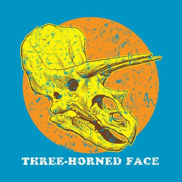 THREE-HORNED FACE