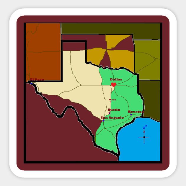 Map Of Western Texas.Go West Western Texas Oklahoma Map