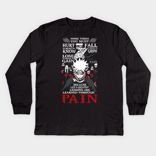 Naruto Akatsuki Pain Shirt Naruto Kids Long Sleeve T Shirt