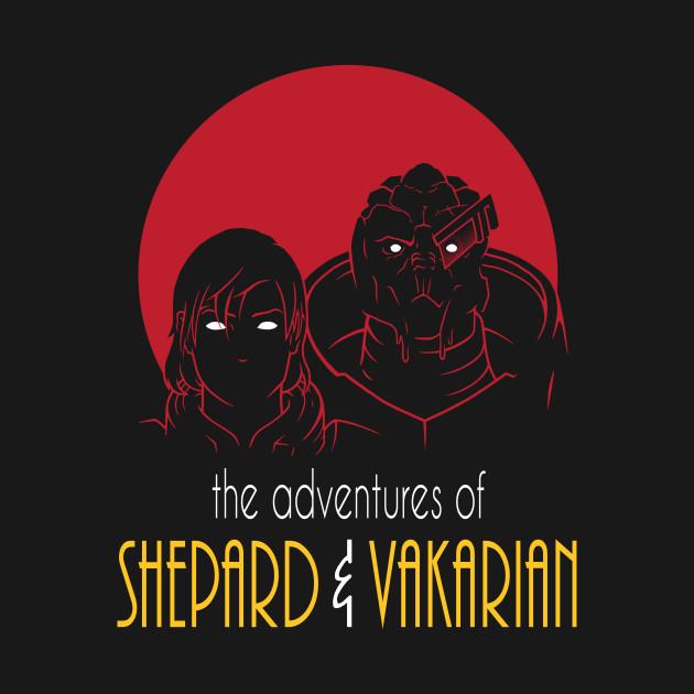 Adventures of FemShep and Vakarian