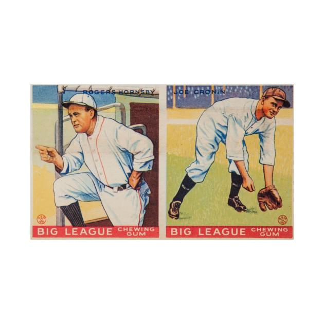 Vintage Baseball Card Design