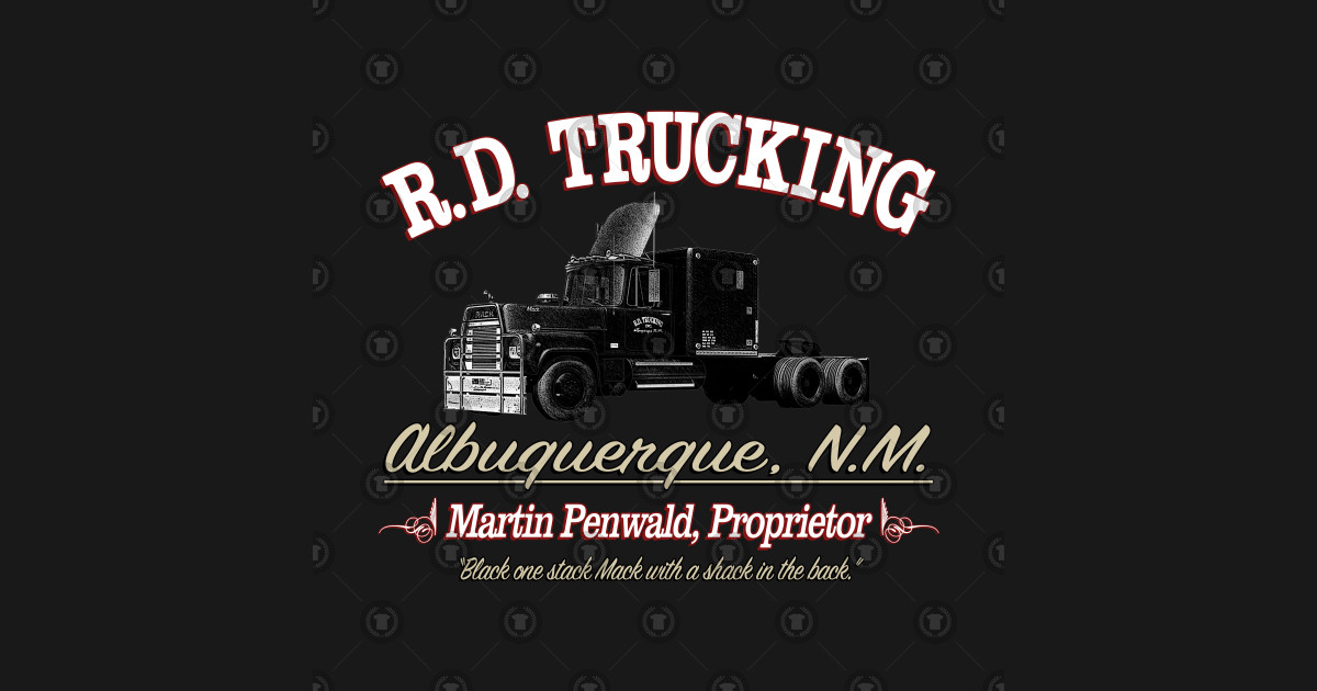 R D Trucking Custom Rubber Duck T Shirt Teepublic