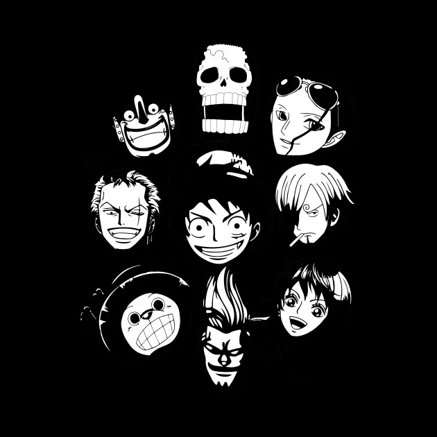 One Piece - straw hat team