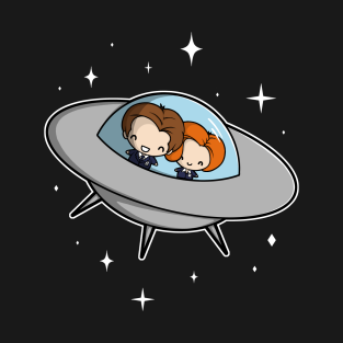 Agents in Space t-shirts