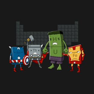 Chemical Avengers t-shirts