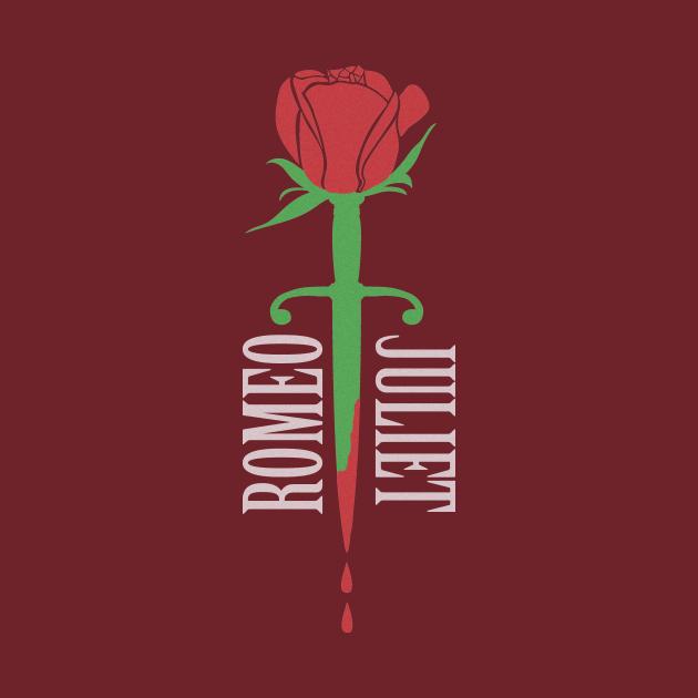 Romeo and Juliet Shakespeare Minimalist Design