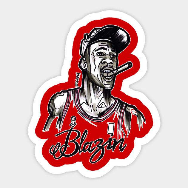buy online bd014 5fe62 Michael Air Jordan Blazin Sticker