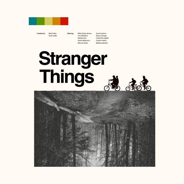 Stranger Things vintage poster