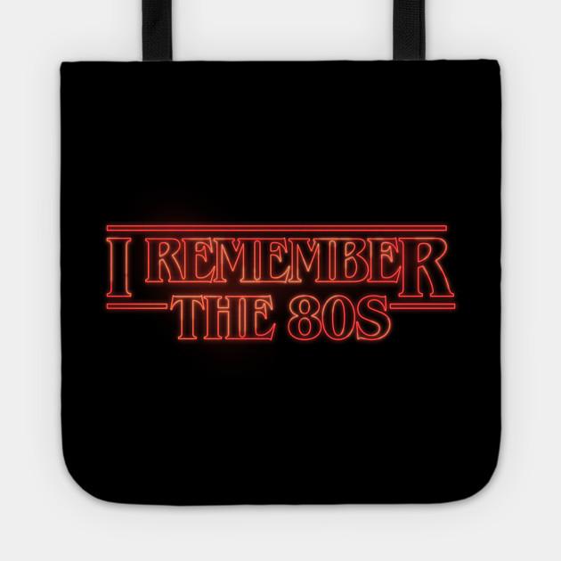 I Remember the 80s #strangerthings