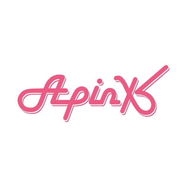 apink logo t-shirt