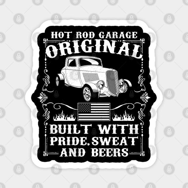 Vintage Hot Rod Classic American Car