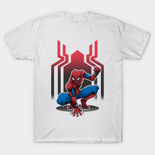 spiderman homecoming spider man t shirt teepublic. Black Bedroom Furniture Sets. Home Design Ideas