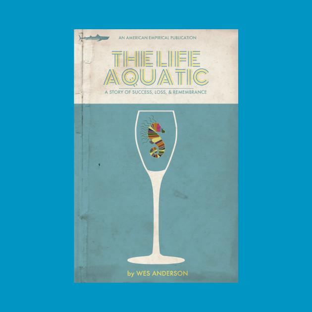 The Life Aquatic Book Cover Tee