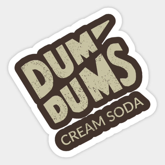 Dum Dums Candy Suckers Cream Soda Adult T Shirt
