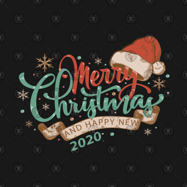 Merry Christmas And Happy New Year.Merry Christmas 2020 Happy New Year 2020