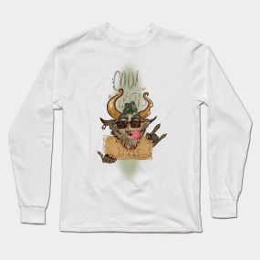 a59b12bf Cool Myths (Color Version) Long Sleeve T-Shirt