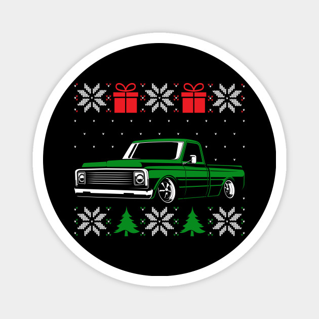 Classic Car Lover Ugly Christmas Sweater