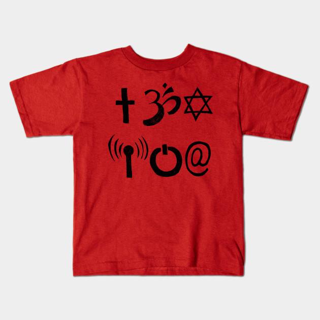 A Study Of Symbols Symbology Kids T Shirt Teepublic