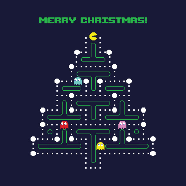 Christmas Pac-Man