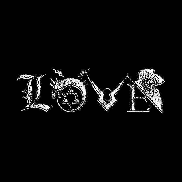 Anime Love (weiß)
