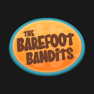 The Barefoot Bandits Logo t-shirts